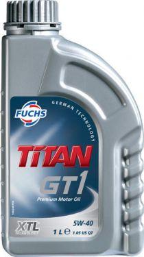 Zvětšit obrázek FUCHS Titan GT1 5W40 (1L)