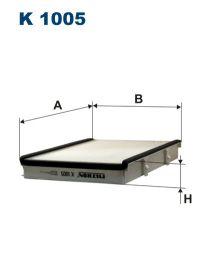 Zvětšit obrázek Kabinový filtr K1005