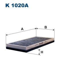 Zvětšit obrázek Kabinový filtr K1020a