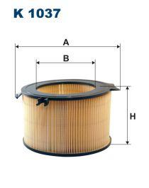 Zvětšit obrázek Kabinový filtr K1037