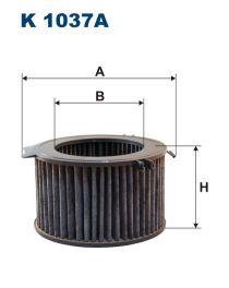 Zvětšit obrázek Kabinový filtr K1037a