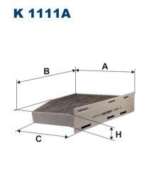Zvětšit obrázek Kabinový filtr K1111a