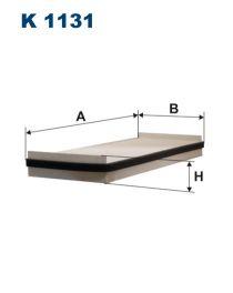 Zvětšit obrázek Kabinový filtr K1131