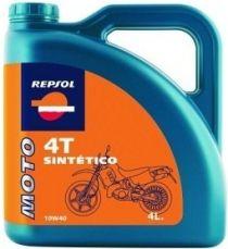 Zvětšit obrázek Repsol moto sintetico 4T 10W40 (4L)