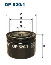 Zvětšit obrázek Olejový filtr OP 520/1