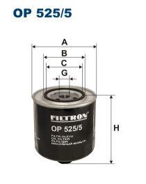 Zvětšit obrázek Olejový filtr OP 525/5
