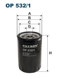 Zvětšit obrázek Olejový filtr OP 532/1