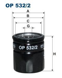 Zvětšit obrázek Olejový filtr OP 532/2