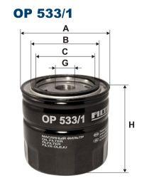 Zvětšit obrázek Olejový filtr OP 533/1