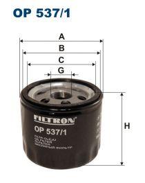 Zvětšit obrázek Olejový filtr OP 537/1