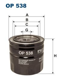 Zvětšit obrázek Olejový filtr OP 538