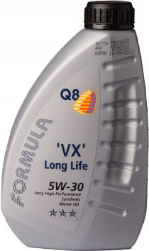 Zvětšit obrázek Q8 Formula VX Long Life 5W30 (1L)