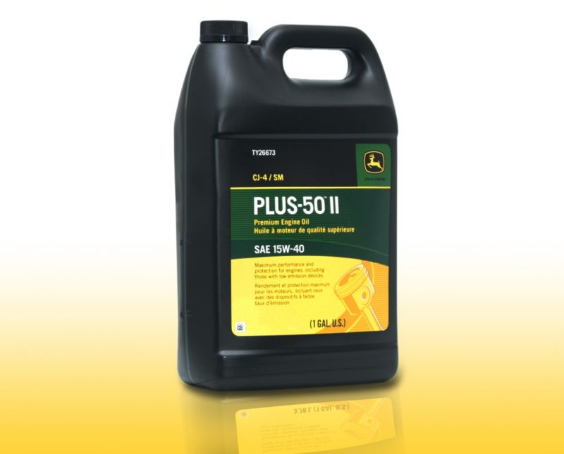 John Deere Plus-50 II Synthetic Blend Motor Oil 0W-40